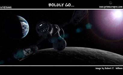 Boldly Go... by XFozzboute