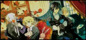 Banner: Pandora Hearts by evan-chan