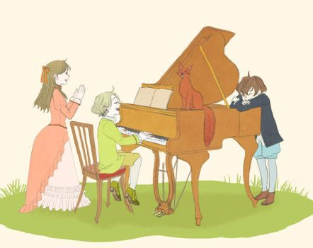 Let's play the piano by sumire77