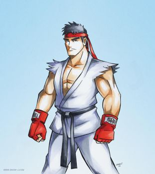 Ryu Street Fighter V by snow-j