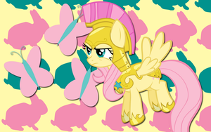 Guard Fluttershy WP by AliceHumanSacrifice0