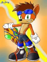 Crash Riders by omegacybersilver