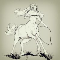 centaur by akaEvElin