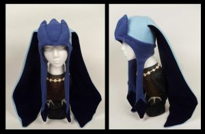 Long Eared Glaceon Hat by Mermade4u