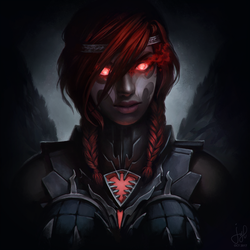 Guild Wars 2 Commission - Vithanna Shebali by jylgeartooth