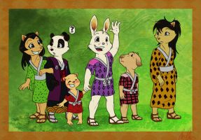 Them Japanese Kids by C-Puff