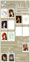 OC meme -- partially filled by Yuli-chan