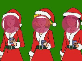 Totally Spies Christmas Gum by mrentertainment