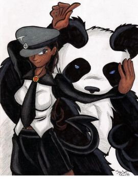 A Girl and her Panda... by Sea-Salt