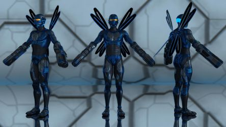 Blue Beetle for G2M by geminii23