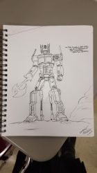 optimus prime by whiteknight64