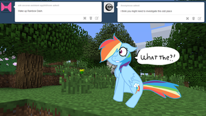 Ask minecraft Dash 1 by alicesstudio