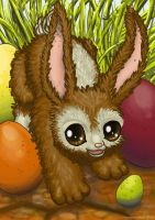 Easter Rabbit by hamstertoybox