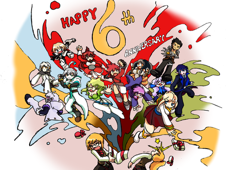 Eldoodle: Elsword 6th Anniversary Submission by XChanxOligoX