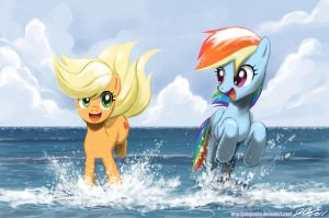Summertime Fillies by johnjoseco