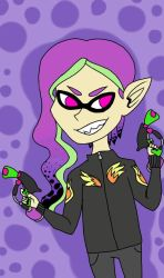 My Splatoon Character by Dillyt