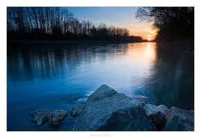 River Sunset - 02 by AndreasResch