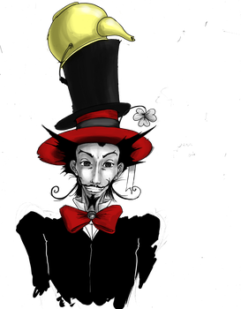 DEAR MAD MAD HATTER by Erick-Draves
