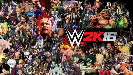 WWE 2K16 Special Roster by yoink13