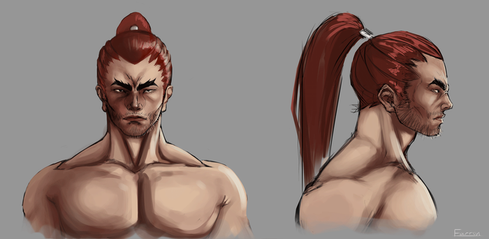 Character face turnaround by Pisces3Ferver