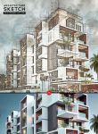 Architecture Sketch Action by hemalaya