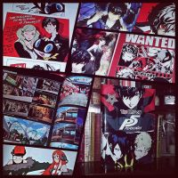 The Art of Persona 5 hinMegamiT by marblegallery7