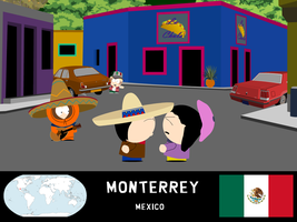 South Park Travelers - Monterrey by niels827