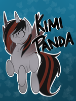 Covention Badge Commission: Kimi Panda by alexsalinasiii
