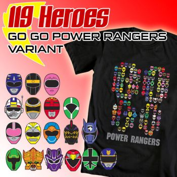 119 Heroes GO GO Version WeLoveFine submission by e-Berry