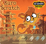 Kuro Scratch ref. by CathyNoire