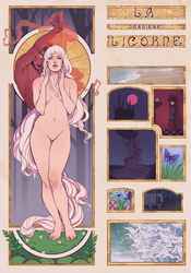 The Last Unicorn by wiccimm