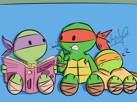 Big Bro Raph by penguinsfan90