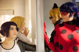 Ladybug - Reflection by SoraPaopu