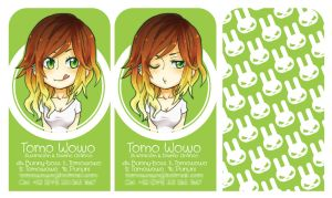 + Business Cards + by Bunny-Boss