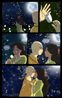 Kataang Week - Day 7-Fireflies by Firedragon2009