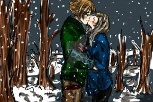 Winter Kiss by DriRose