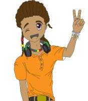 rasta boy by Busmann