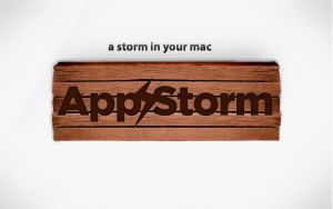 Wood AppStom Wallpaper by simiographics