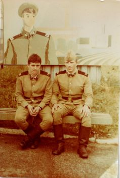 Soviet conscripts - vintage photograph by unionvintage