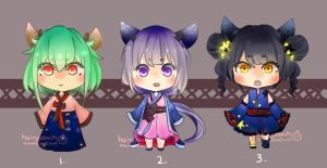 Adopts batch 6 [OPEN 1/3] by hairypeachadopts