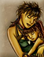 In Mother's Arms by Peipei22