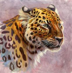 Saber-Toothed Leopard by hibbary