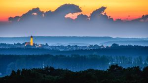 Sunset above Aichach by Floriarty