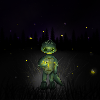 Fireflies by DoodleSocks