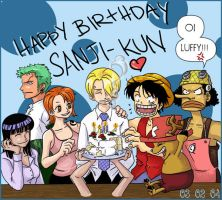 Happy Birthday Sanji by Kitsunebi777