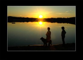 Mom and the Sunset by Basement127