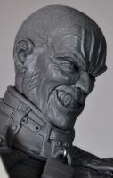 Batman Arkham Asylum inspired Zsasz sculpt by AntWatkins