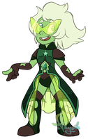Emerald - Steven Universe by iPhysik