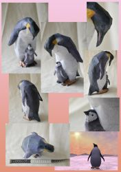 Zoo Tycoon Paper Collection - Emperor Penguin by DrWheelieMobile