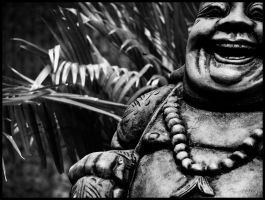 Laughing Buddha by KidThink